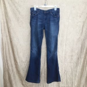 "7 For All Mankind Distressed ""A"" Pocket Jeans"